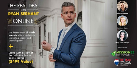 The REal Deal with Ryan Serhant tickets