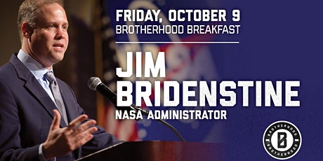 COTM Brotherhood  Breakfast with NASA Administrator Jim Bridenstine tickets