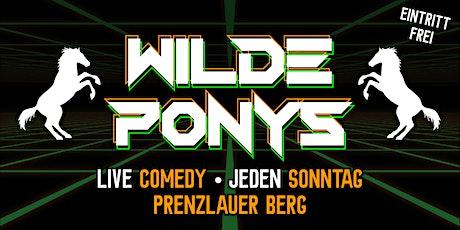 Stand-up Comedy • P-Berg • 20.00 Uhr • mit Hygienekonzept | WILDE PONYS Tickets