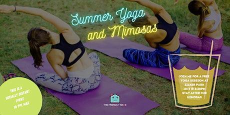Yoga + Mimosas tickets
