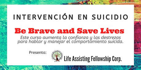 Be Brave on Suicide Interventions (Oct 14) entradas