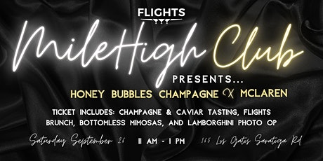 Mile High Club - Honey Bubbles tickets