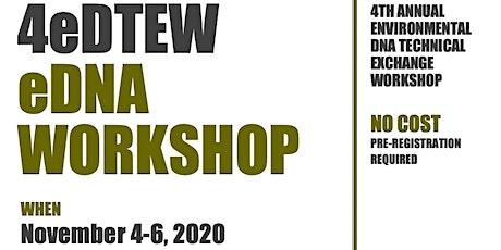 4th eDNA Technical Exchange Workshop ingressos