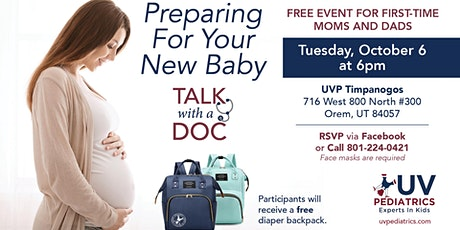 Talk With A Doc: Preparing For Your New Baby tickets