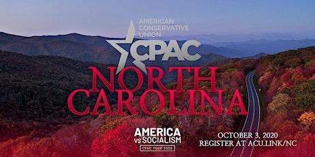 CPAC North Carolina tickets