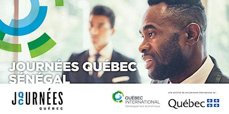 Journées Québec Sénégal billets