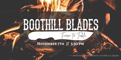BootHill Blades' Farm to Table Dinner tickets