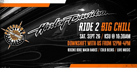 Peterson's Harley-Davidson South presents Ride 2 Big Chill! tickets