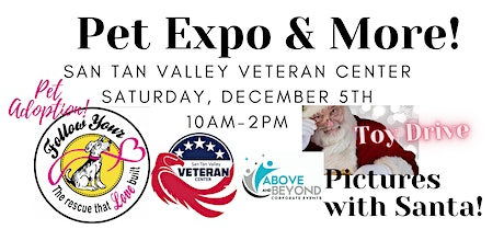 Pet Expo, Toy Drive, Santa & More! tickets