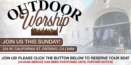 Outdoor Sunday Morning Worship (8:00 AM) tickets
