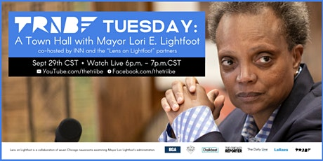 TRiiBE Tuesday: A Town Hall with Mayor Lori E. Lightfoot tickets