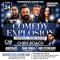 Comedy Explosion Starring Chris Roach from CBS Series Kevin Can Wait tickets