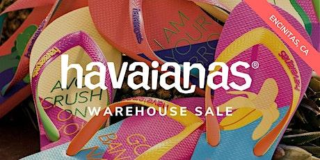 HAVAIANAS Warehouse Sale - October 2020 - Encinitas, CA tickets