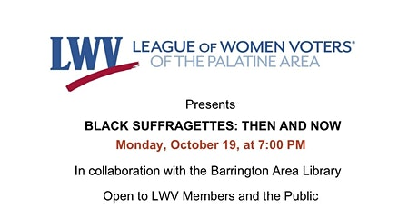 Black Suffragettes: Then and Now with Audra Wilson. tickets