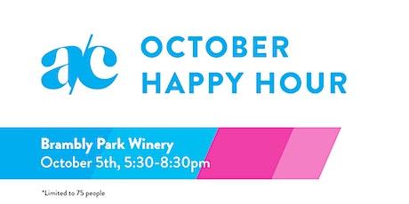 October Happy Hour tickets
