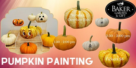 Pumpkin Painting for Kids tickets