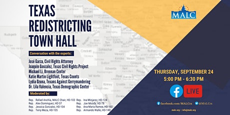 Texas Redistricting Town Hall tickets