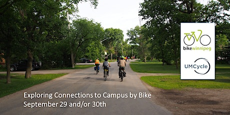 Connecting to Campus by Bike - East tickets
