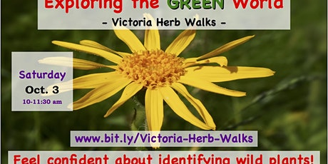 Exploring the Green World - Victoria Herb Walk tickets