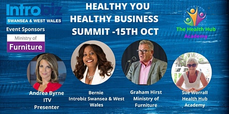 Healthy You Healthy Business Wellbeing Summit tickets