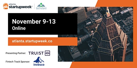Techstars Startup Week Online Atlanta tickets