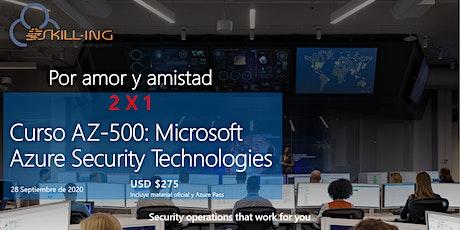 Curso AZ-500: Microsoft Azure Security Technologies entradas
