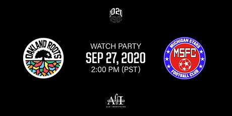 Oakland Roots v Michigan Stars: Outdoor Watch Party at Ale Industries tickets