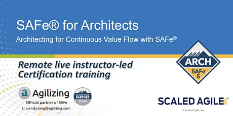 SAFe for Architects Certification - 3 days