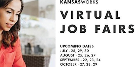 KansasWorks Virtual Statewide Job Fair - October (Employer Registration) tickets