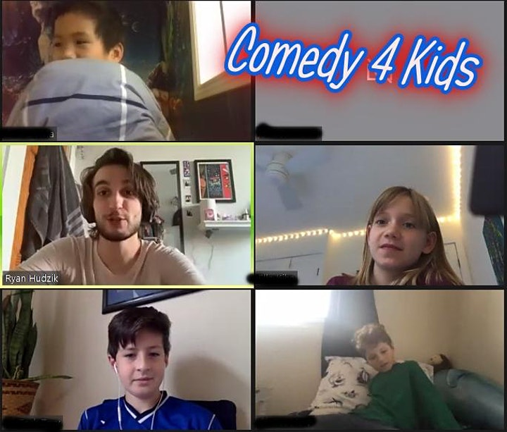 Comedy 4 Kids 8-12 Online Classes image
