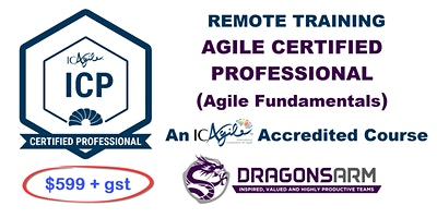 DragonsArm ICAgile Certified Professional Remote 2-day course