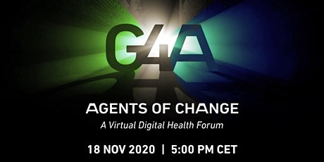 Agents Of Change: A Digital Health Forum tickets