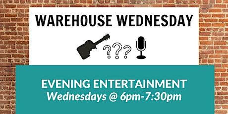 Warehouse Wednesday tickets