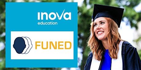 Financiamiento de FUNED para estudiar tu maestría en  el extranjero tickets