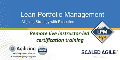 SAFe Lean Portfolio Management Certification - 2 days