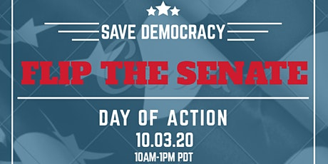 FLIP THE SENATE — Virtual Day of Action tickets