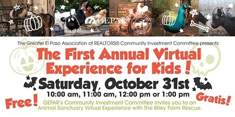First Annual Virtual Experience for Kids tickets