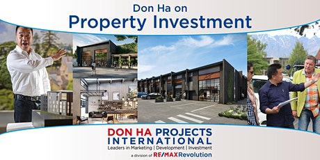 Don Ha on Property Investment tickets