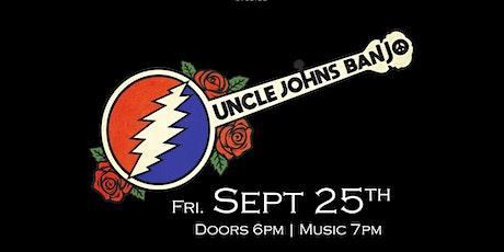 Uncle John's Banjo tickets