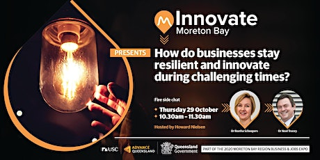 How do businesses stay resilient and innovate during challenging times? tickets