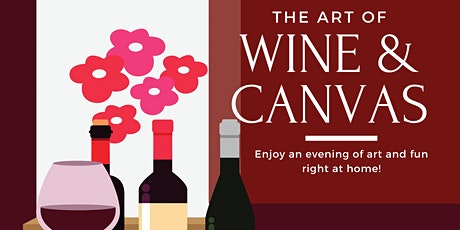 The Virtual  Art of Wine and Canvas Presents The Best tickets