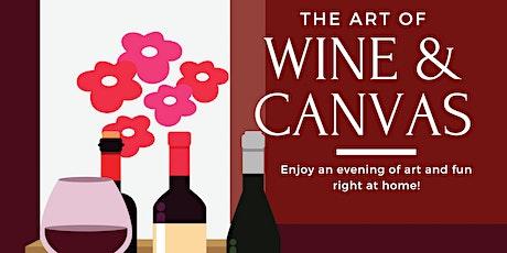 The Virtual  Art of Wine and Canvas Presents The Best biglietti