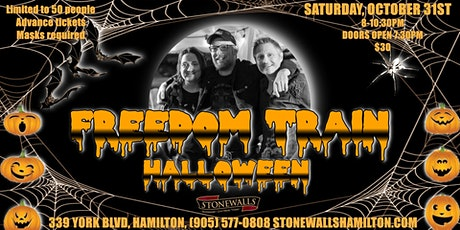 Freedom Train HALLOWEEN at Stonewalls tickets