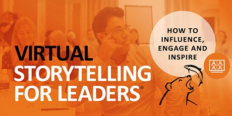 Virtual Storytelling for Leaders® – October 2020 tickets