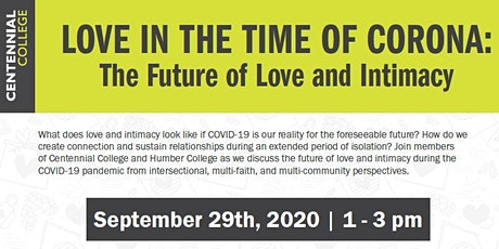 Love in the time of Corona: The Future of Love & Intimacy tickets