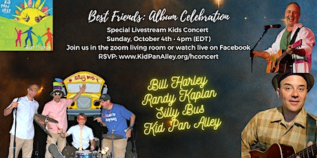 Kid's Concert featuring Bill Harley, Randy Kaplan, Silly Bus, Kid Pan Alley tickets