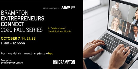 Entrepreneurs Connect Fall Series - In Celebration of Small Business Month tickets