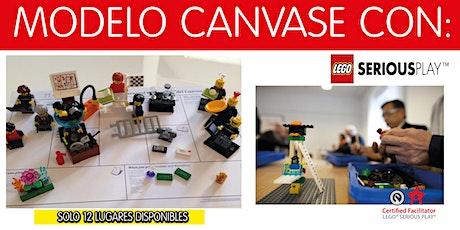 Lego Serious Play modelo canvase entradas