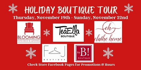 Holiday Boutique Tour tickets