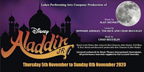 "Lakes Performing Arts Company's Production of ""Disney's Aladdin Junior"""